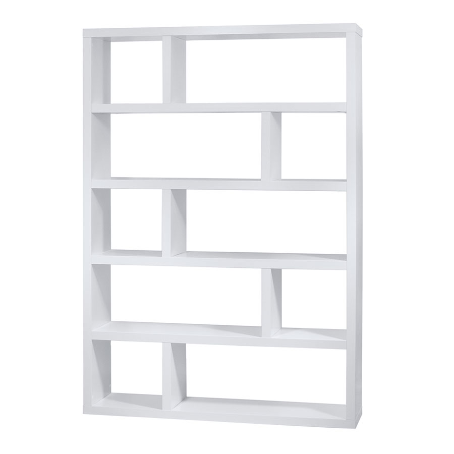 white bookcases call to order · dublin tall white modern bookcase TQLVLGG