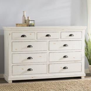 white dresser castagnier 9 drawer dresser UMHSPOR