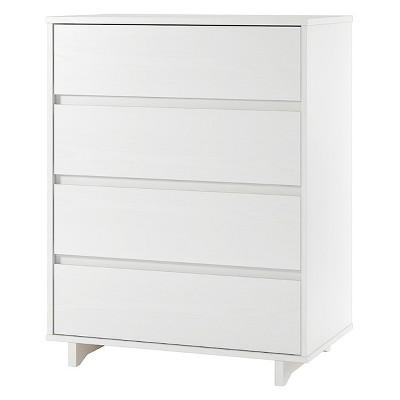 white dresser modern 4 drawer dresser - room essentials™ ALHECFL