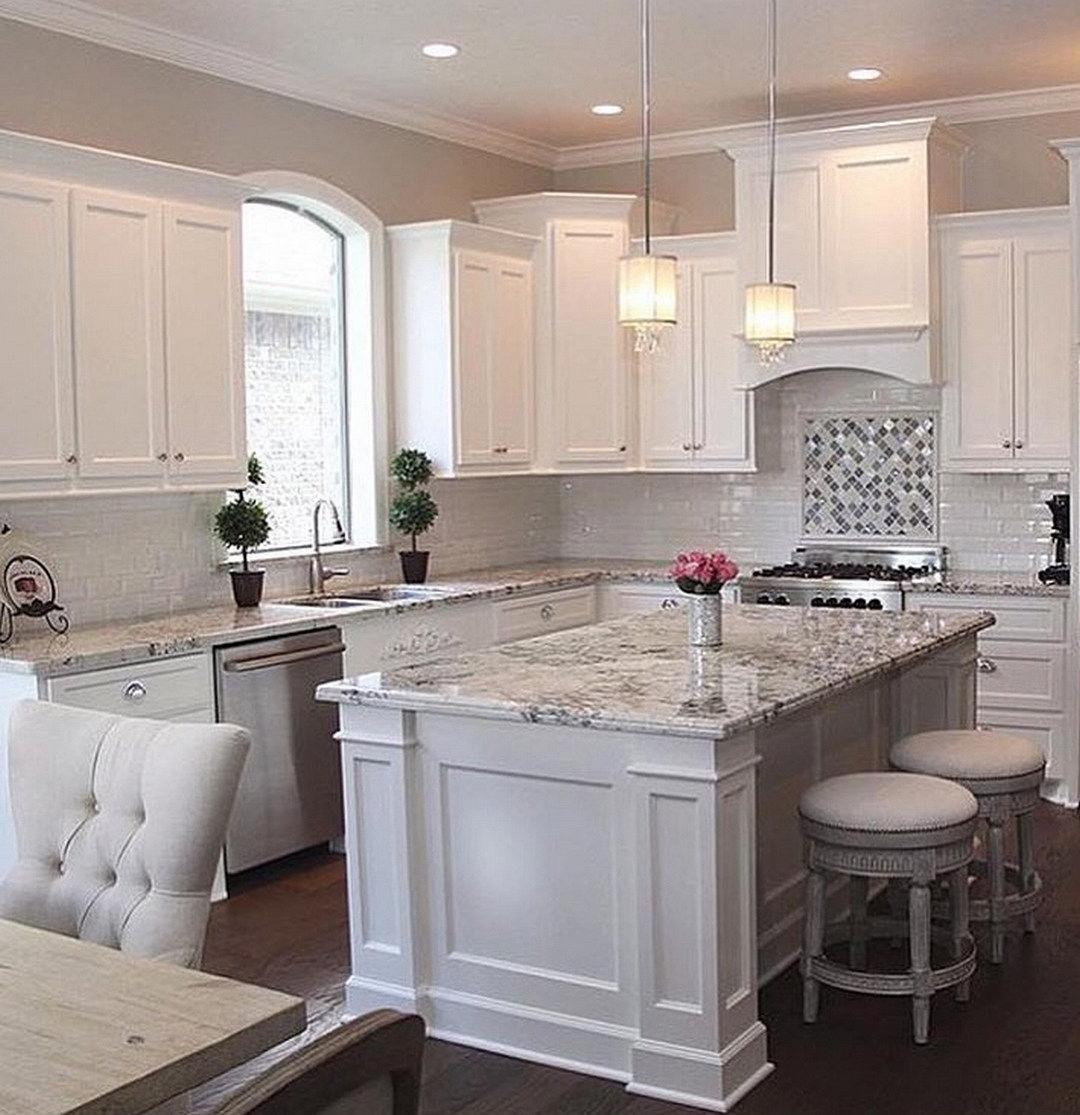 white kitchen cabinets 53 pretty white kitchen design ideas IVMRMZJ