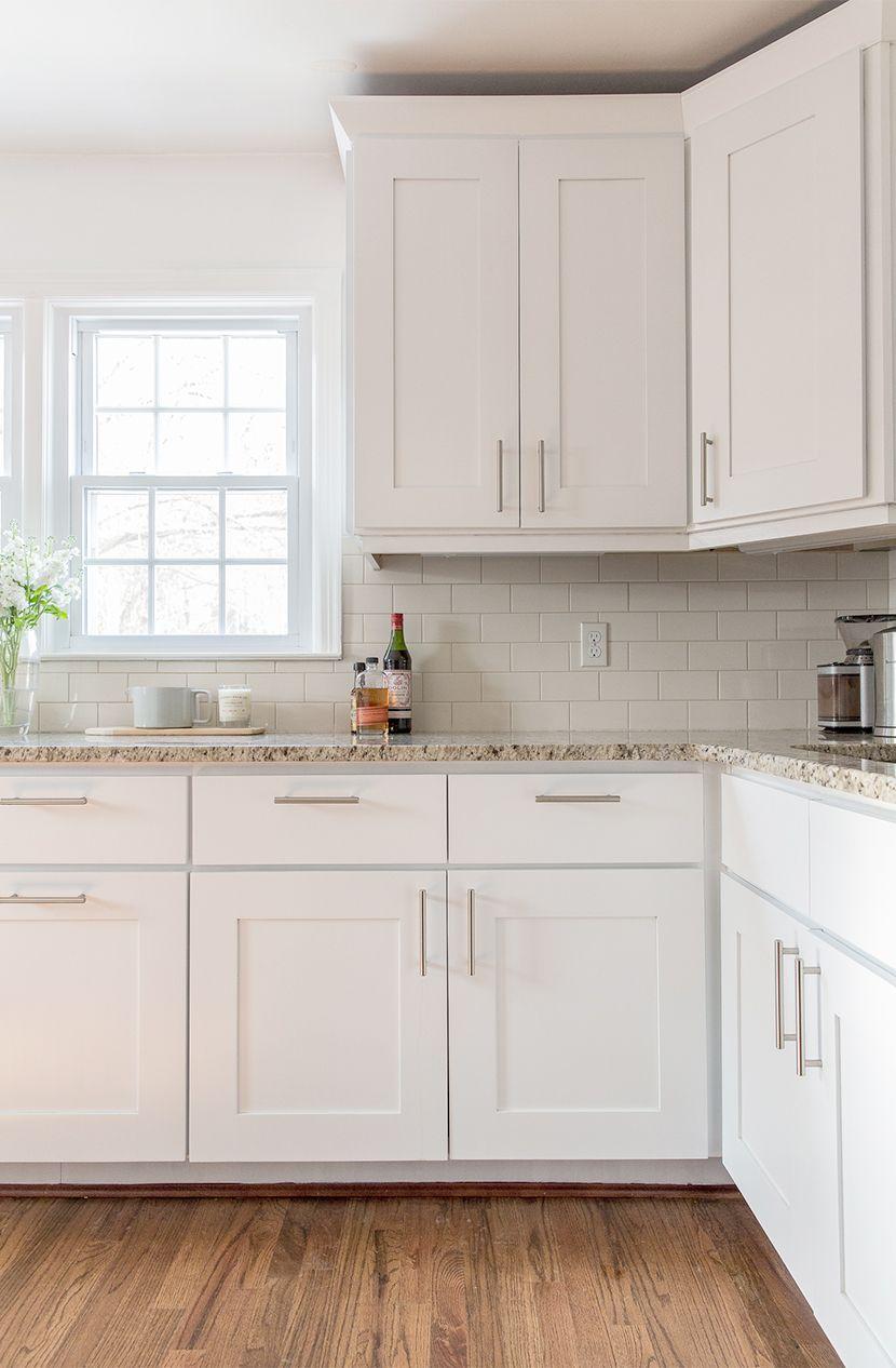 white kitchen cabinets a simple kitchen update | the fresh exchange - behru0027s ultra AVKJESB
