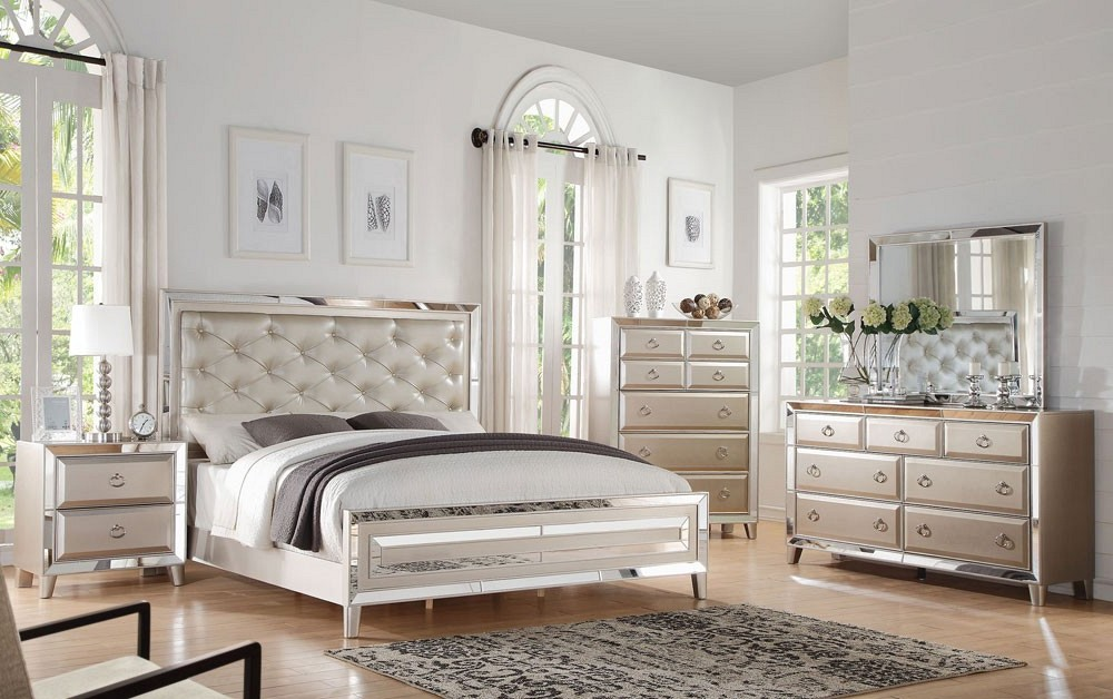 white mirrored bedroom furniture fancy design mirrored glass bedroom  furniture VMJAUDZ