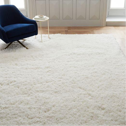 white rug cozy plush rug - white FXUPWIO