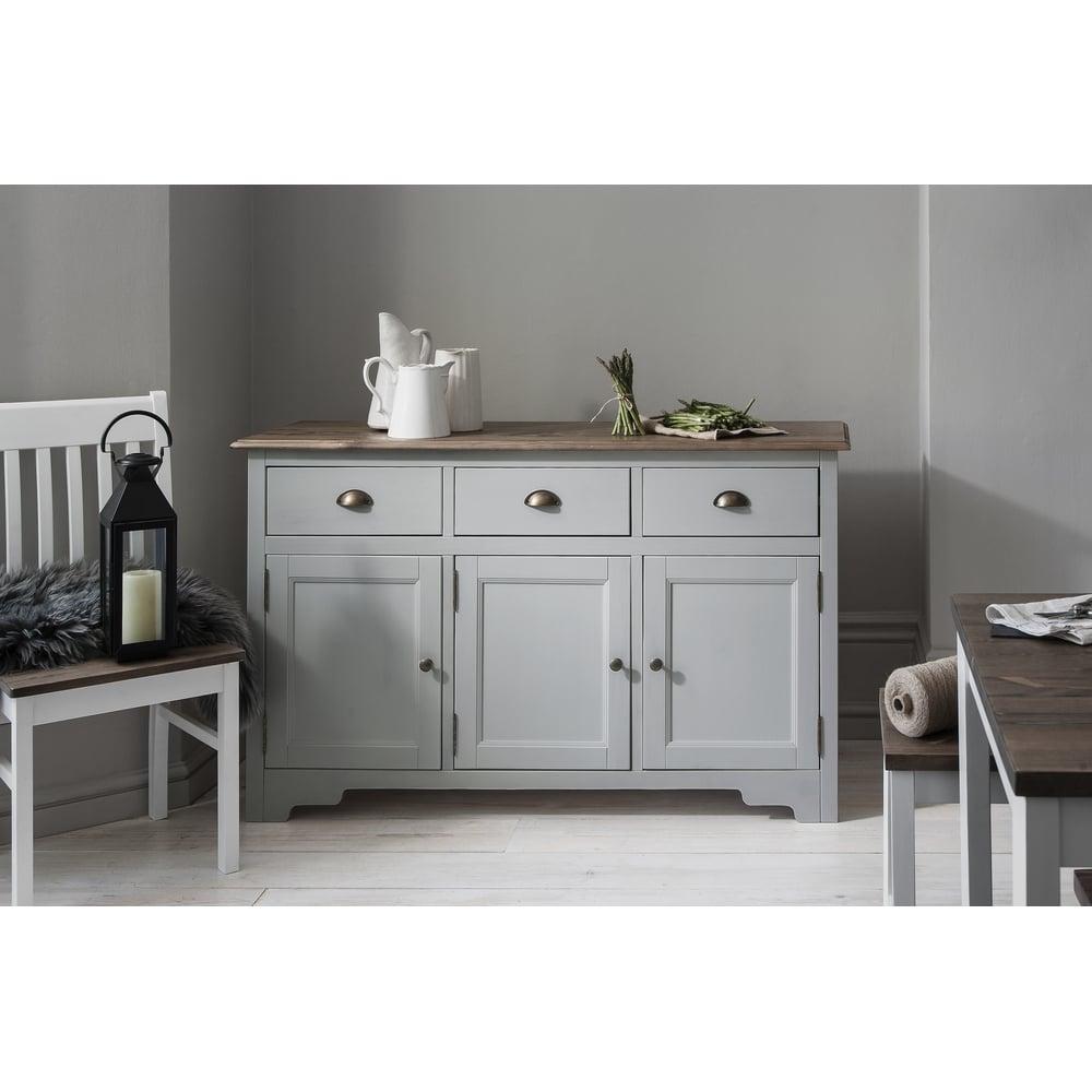 white sideboard cabinet NUBFIGN
