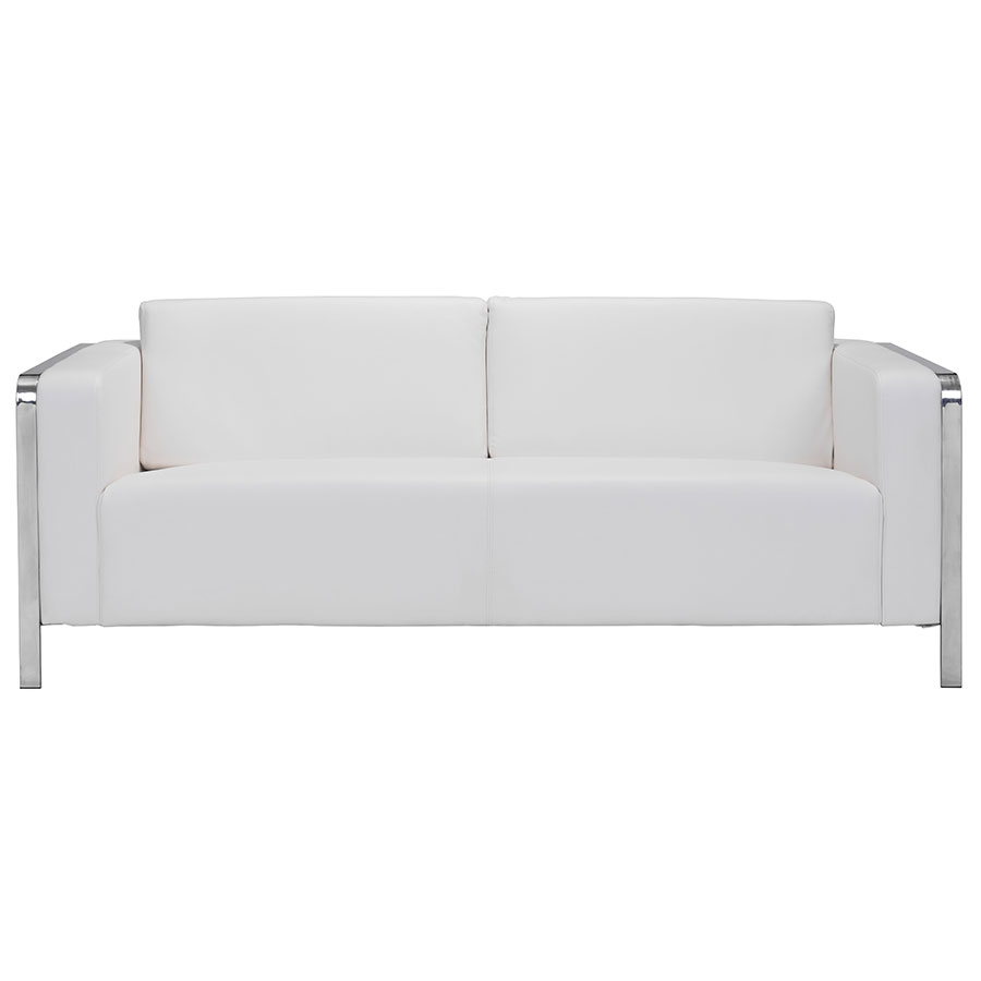 white sofa terzo white modern sofa; terzo white contemporary sofa ... QELDSBO