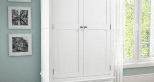 white wardrobes harper white solid wood 2 door 1 drawer wardrobe ETOPJMS