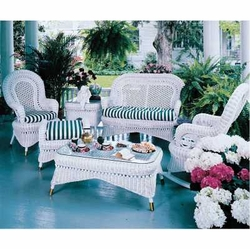 wicker furniture country furniture set XRGNBVQ