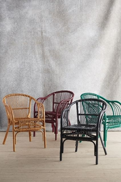 wicker rattan dining chairs 16 WPCTCES
