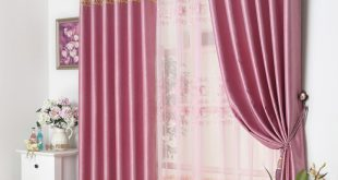 window curtain design modern patterned pink floral window curtains design BHNNKLJ
