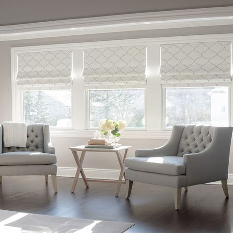 window treatment ideas whether youu0027re looking for elegant draperies, covered valances, or a simple WLPVLFK