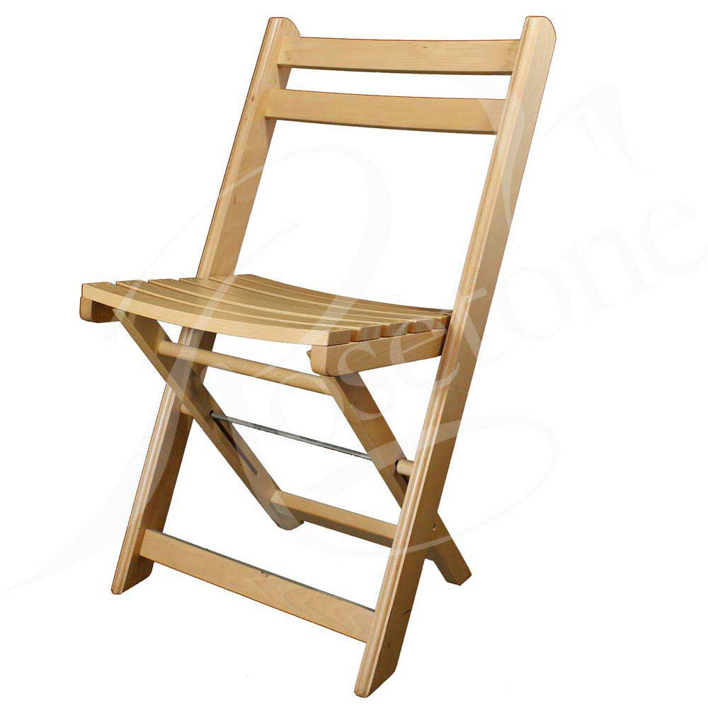 wooden folding chairs natural-finish-beech-wood-folding-chair-garden-chair YAZEPZB