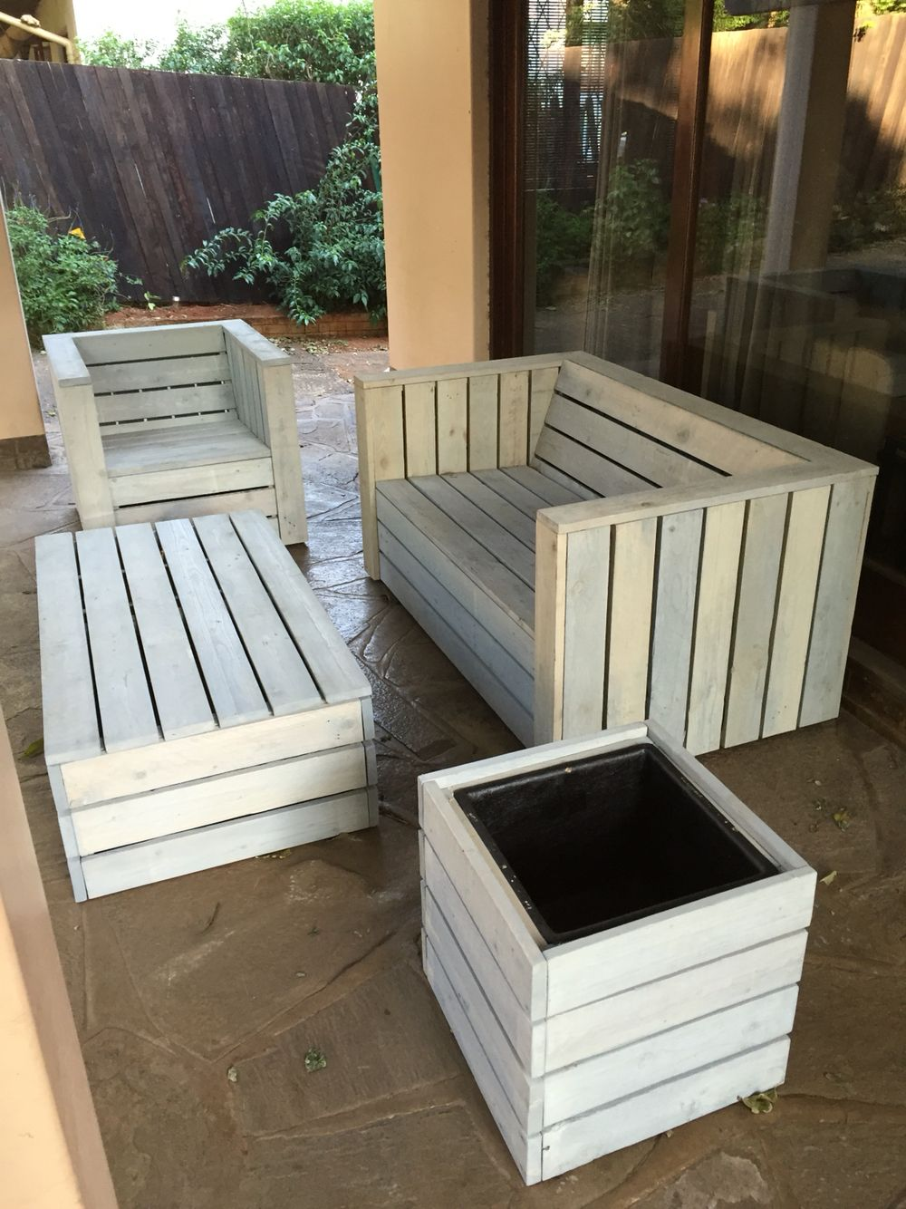 wooden patio furniture pallet wood patio furniture set (how to build a shed out WSTBQUJ