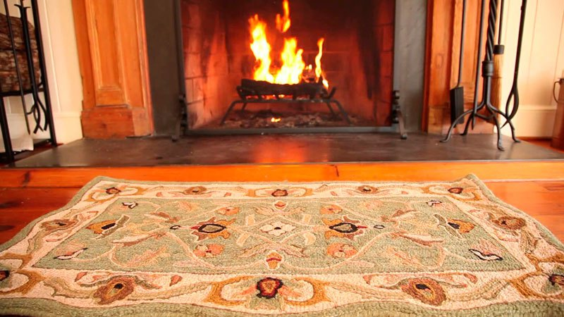 wool hearth rug is the best choice XITUPMW