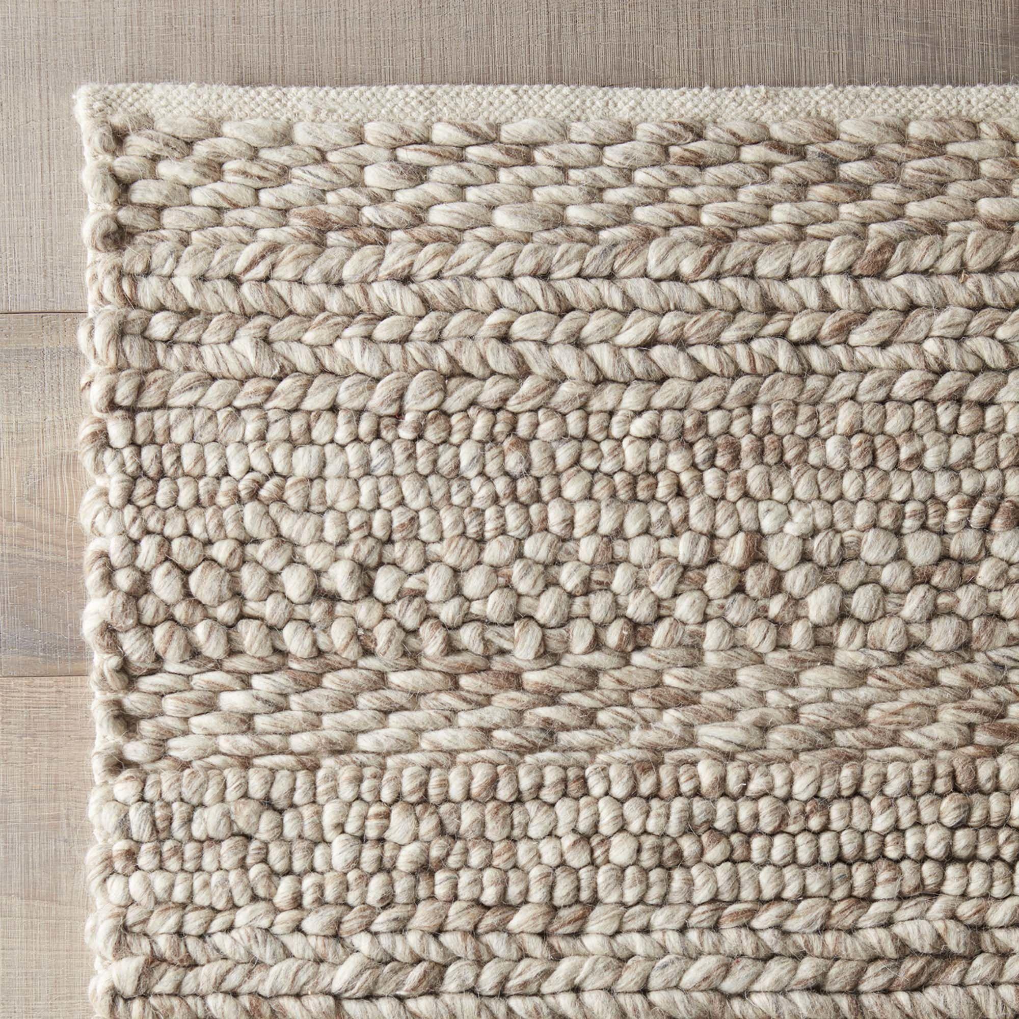 woven rugs dwellstudio florian hand-woven natural area rug QRMZODA