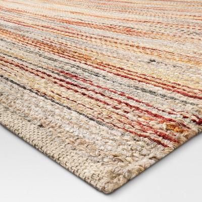 woven rugs woven area rug natural - (5u0027x7u0027) - threshold™ : target TLQUBOA
