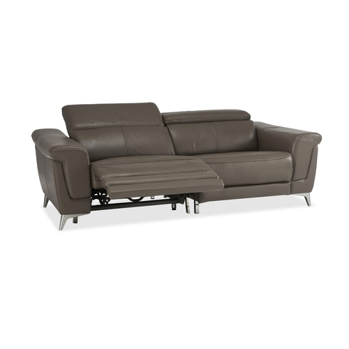 Durian And Durian Lopez 3 Seater Power Recliner Leather Sofa, Rs