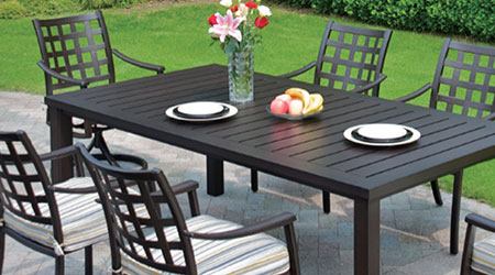 Aluminum outdoor patio furniture – simple   tips