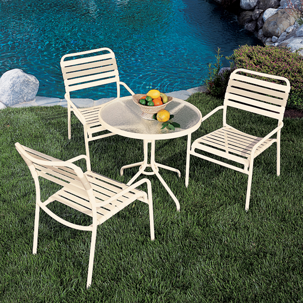 Kahana Strap by Tropitone All three of these categories of outdoor aluminum  patio furniture