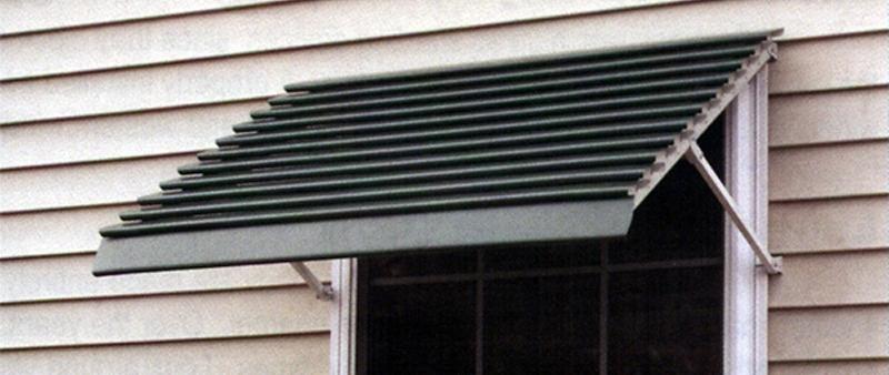 Aluma Line Closed Panel Aluminum Window Awnings