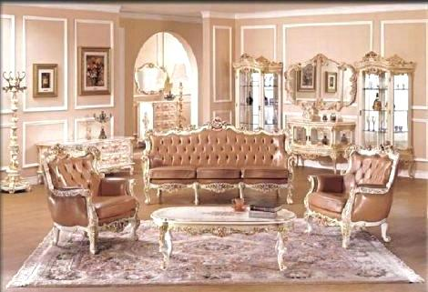 French Provincial Living Room Furniture French Living Room Set