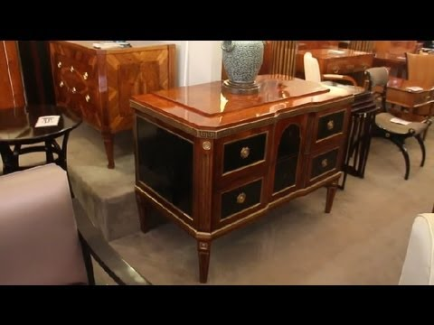 Different Antique Furniture Styles : Interior Design Tips - YouTube