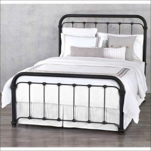 Cool Antique Metal Headboards Queen as Full Size Metal Bed Frame Beautiful  Full Beds &