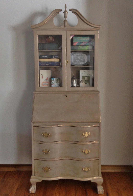 Secretary Desk With Hutch - Visual Hunt