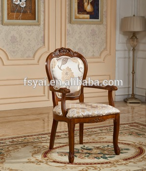 Europe Style Leisure Hand Carved Solid Wood Dining Antique Wooden Chairs  With Arms - Buy Antique Wooden Chair,Wooden Chair,Antique Wooden Chairs  With Arms