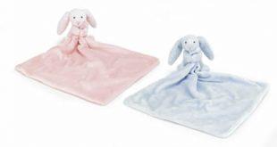 New baby comforter blanket soother jellycat bashful bunny comforter