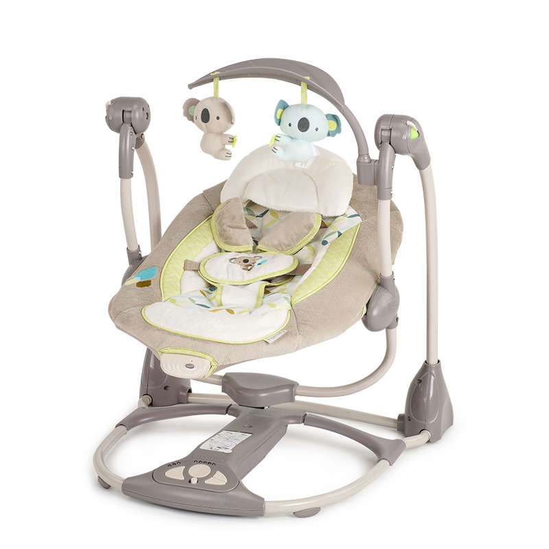 ingenuity baby rocking chair soothe chair electric cradle bed coax sleep  artifact coax baby rocking chair