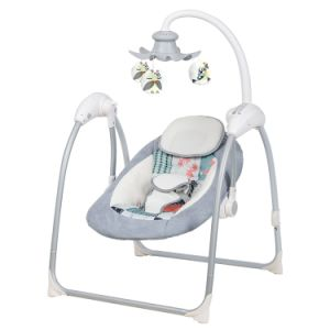 Baby Rocker Swing Swinging Bouncer Chair Infant Bed Folding Baby Moses  Basket Baby Cribs with Musical