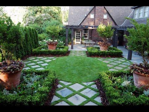 Simple backyard garden landscape design   ideas?