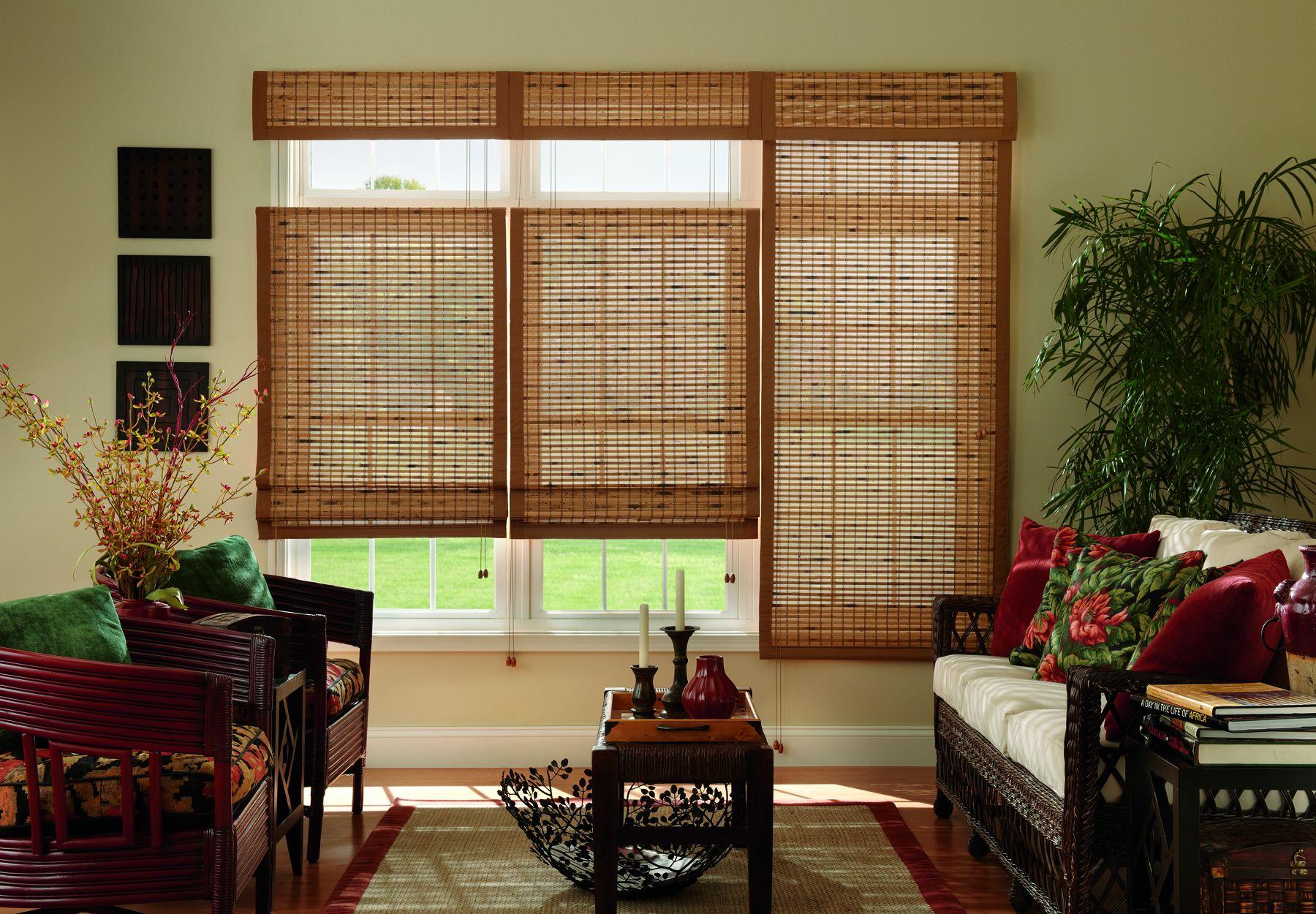Bamboo Shades & Natural Shades - Shades - The Home Depot