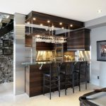 bar counter design for home is equally   important to display the food