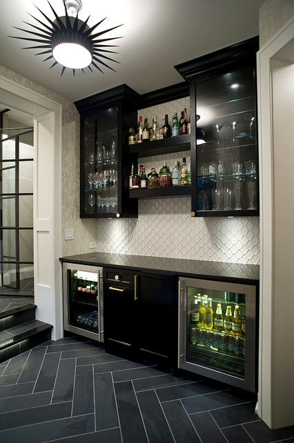 18 Tasteful Home Bar Designs That Will Attract Your Attention | bar