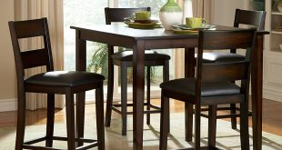 Dining Tables, Enchanting High Top Dining Table Sets Bar Height Table And  Chairs Trendy High