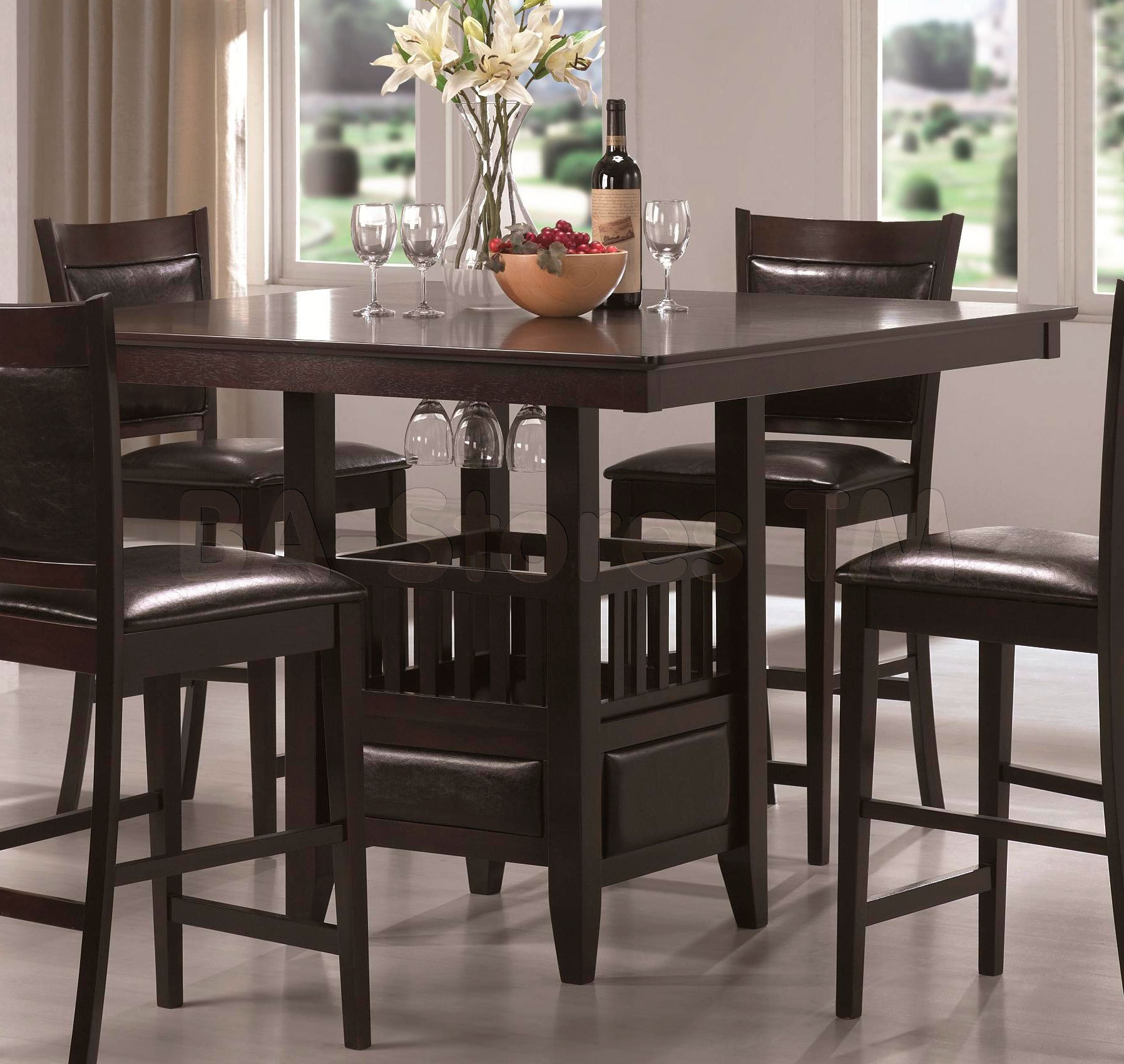 Bar Height Table And Chairs Furniture Idea