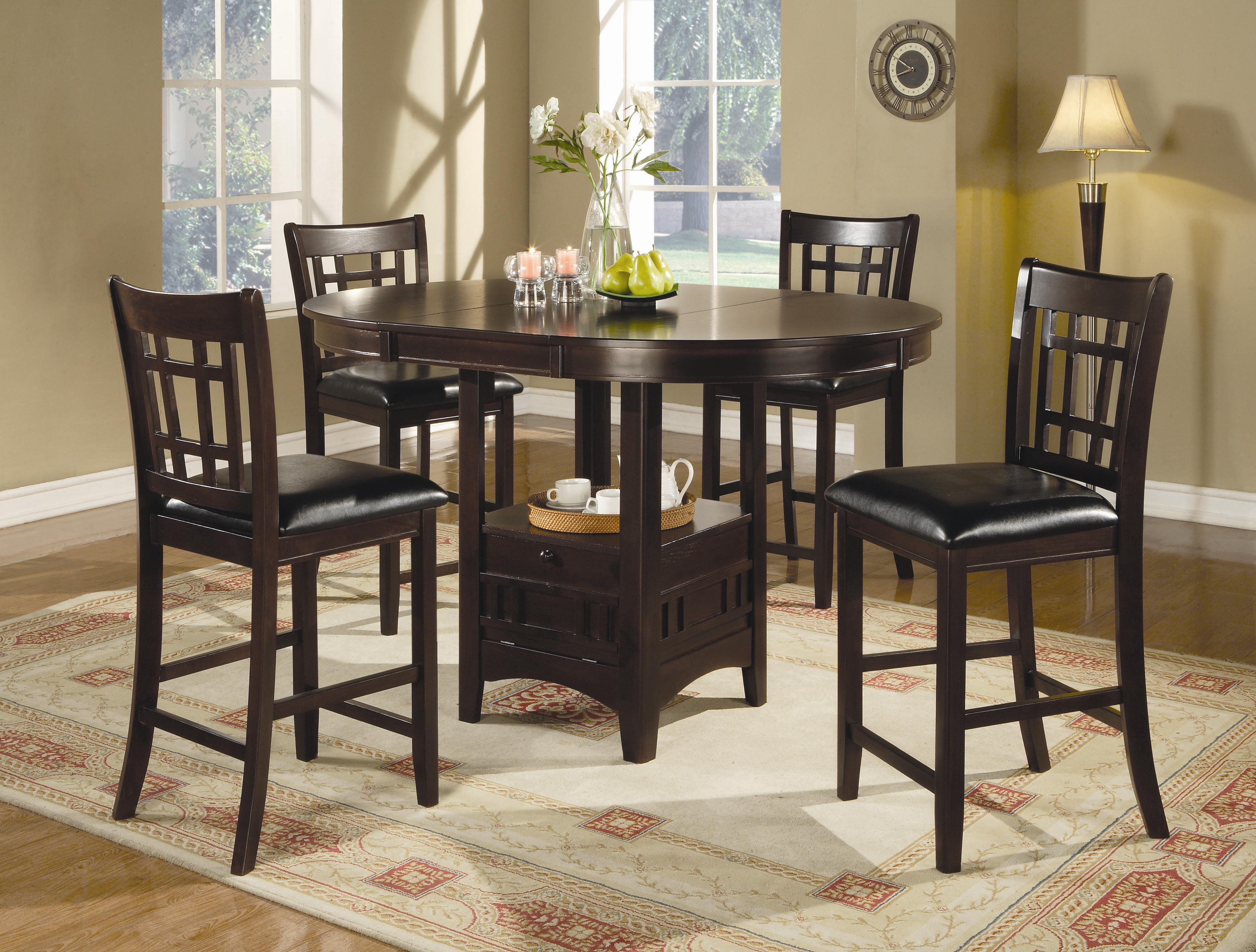 5 Piece Counter Table and Chair Set