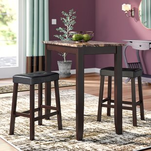 Daisy 3 Piece Counter Height Pub Table Set