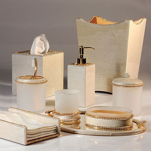 gold bathroom accessories sets | For the Home | Bathroom Accessories,  Bathroom, Gold bathroom