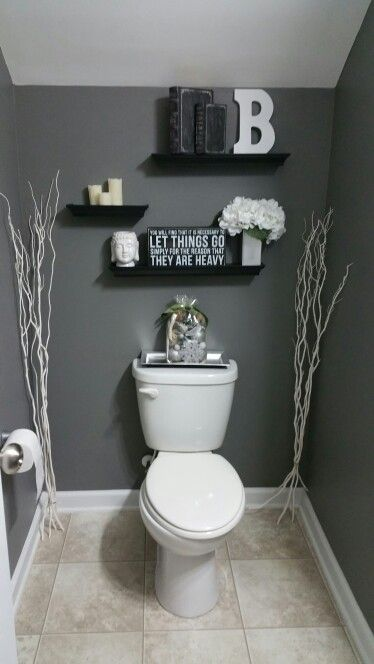 A soft, inviting, budget friendly bathroom remodel for less than $100.