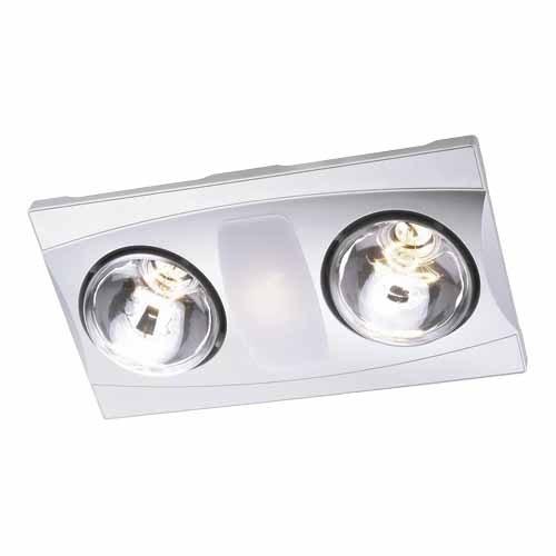 Aerlite 3-in-1 Bathroom Heat/Fan/Light Kit - Heat Light Extractor Fans |  Mitre 10™