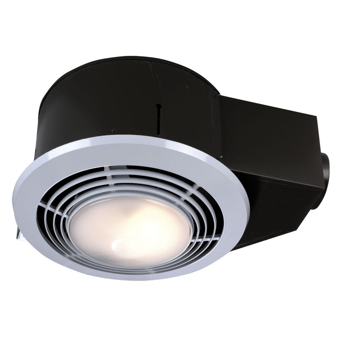 NuTone QT9093WH Heater/Fan/Light/Nightlight, 1500-Watt Heater, 110