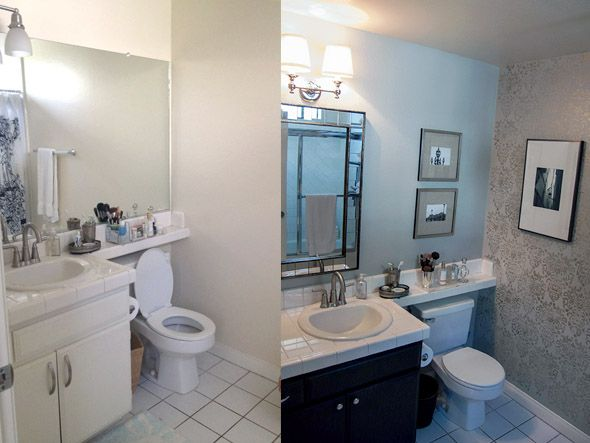 Small Bathroom Makeovers Before And After |