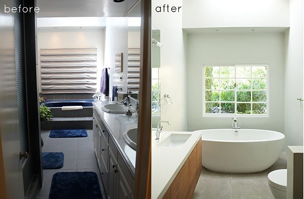 Small Bathroom Makeovers Before And After u2013 Beautiful House