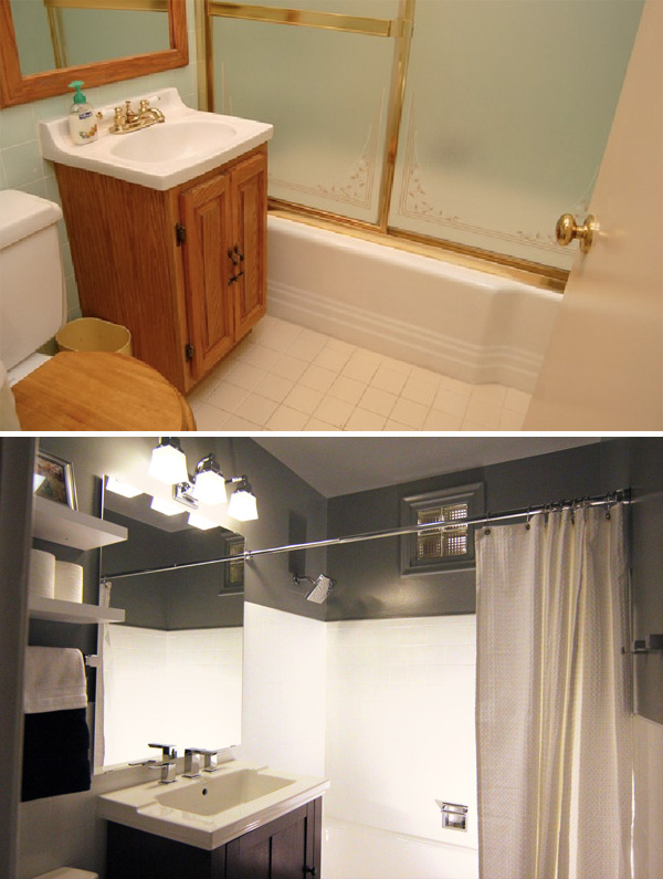 Creative bathroom makeovers – bathroom   makeovers before and after