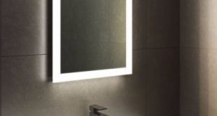 Halo Tall LED Light Bathroom Mirror 1416 | Home Sweet Home