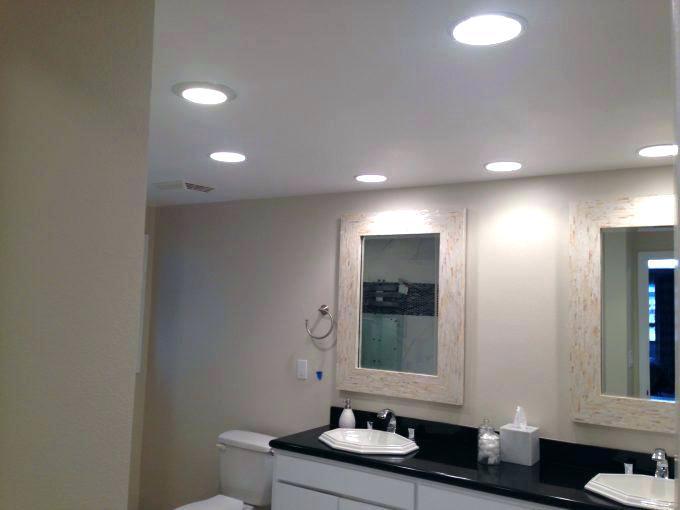 Lighting A Bathroom Cool Recessed Bathroom Lighting Bathroom Lighting  Installing Bathroom Light Fixture Over Mirror Regarding Lovely Recessed  Lighting