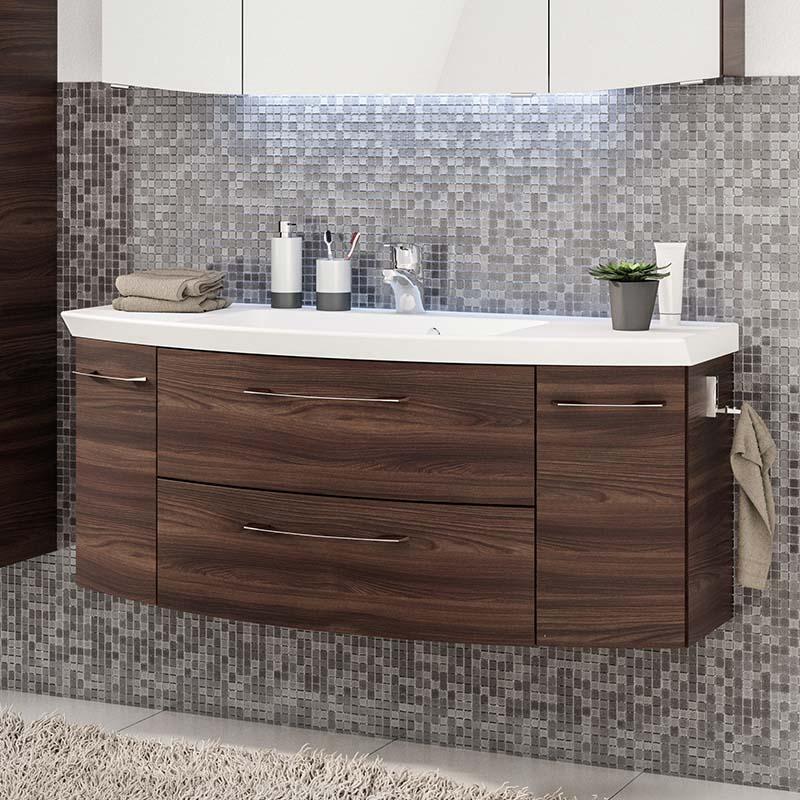Luxury wall hung design Cassca Bathroom Vanity Unit 2 Drawer 2 Door