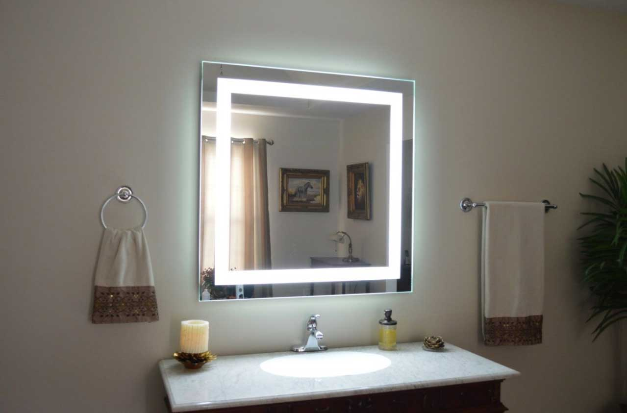 Bathroom Wall Mirrors Light